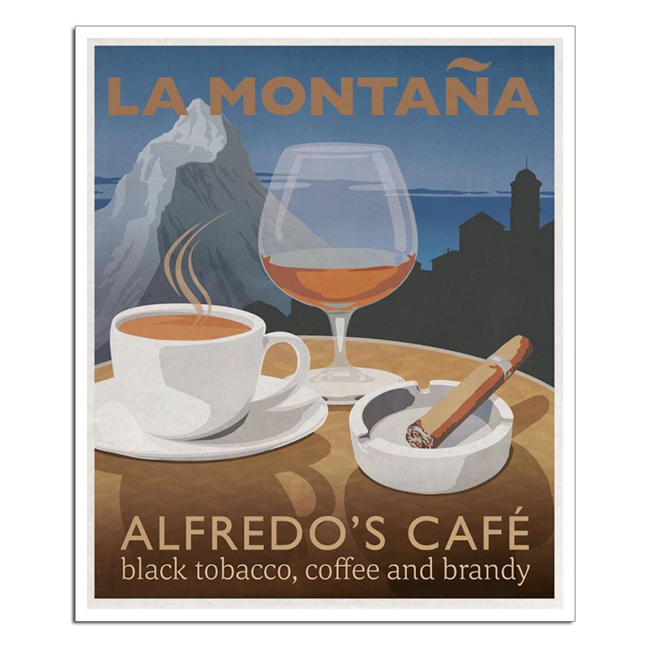 Alfredo's Café poster