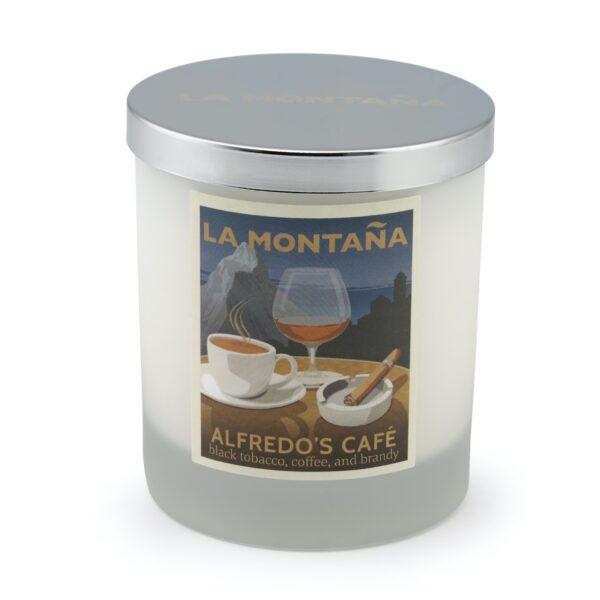 Alfredo's Café candle