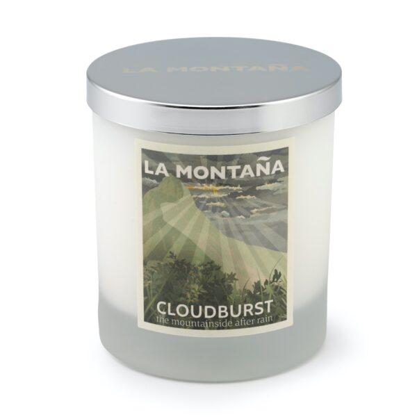 Cloudburst candle
