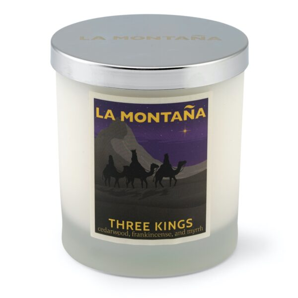 Three Kings candle