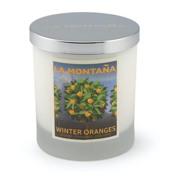 Winter Oranges candle