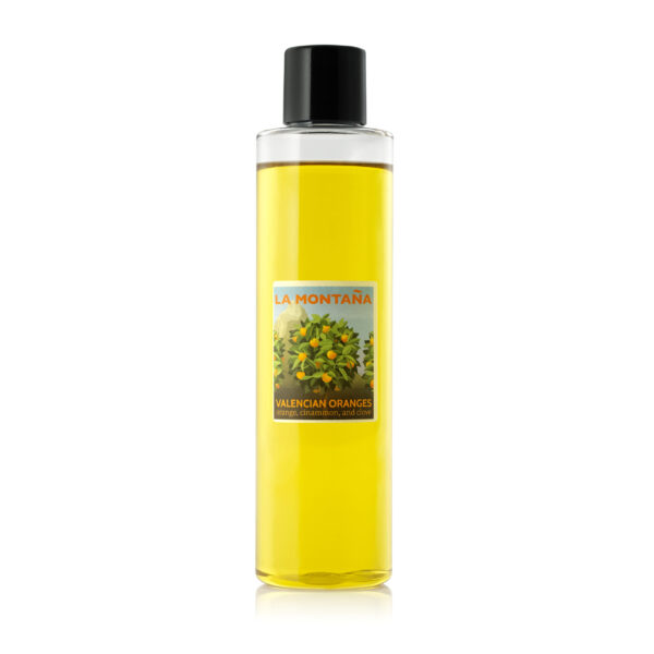 Valencian Oranges diffuser oil refill – incl. replacement reeds