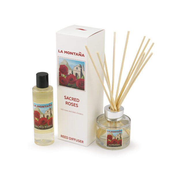 Sacred Roses diffuser and refill set