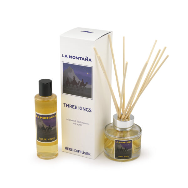 Three Kings diffuser and refill set