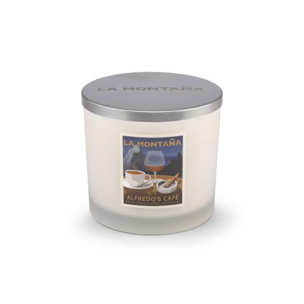 Alfredo's Café candle (3 Wick)
